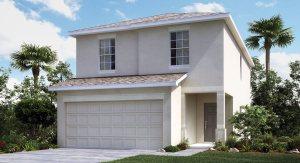 Vista-Palms-Manors/The Madrid II 1,745 sq. ft. 4 Bedrooms 2.5 Bathrooms 2 Car Garage 2 Stories Wimauma Florida