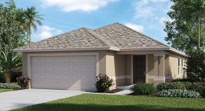 Vista-Palms-Manors/The St. Moritz 1,353 sq. ft. 3 Bedrooms 2 Bathrooms 2 Car Garage 1 Story Wimauma  Fl