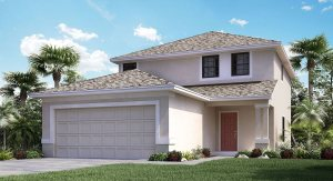 Vista-Palms-Manors/The St-Regis 1810 sq.ft. 3 Bedrooms 2.5 Bathrooms 2 Car Garage 2 Stories Wimauma Fl