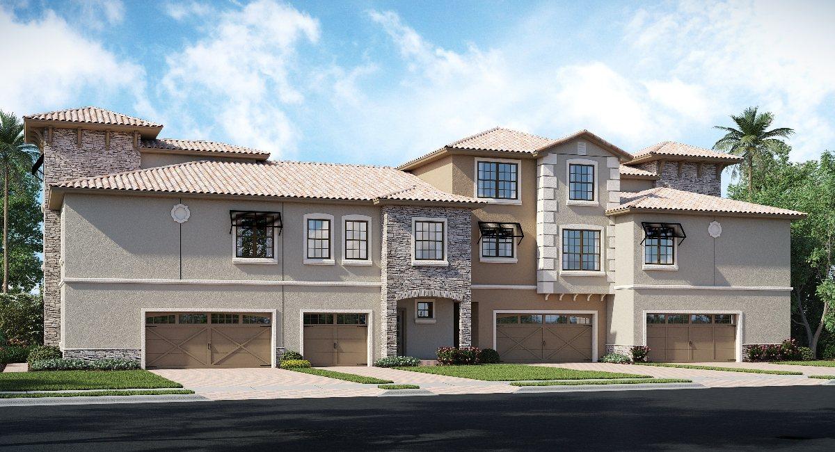 ChampionsGate Florida/The Brookfield 2,346 sq. ft. 4 Bedrooms 3.5 Bathrooms 2 Car Garage 3 Stories