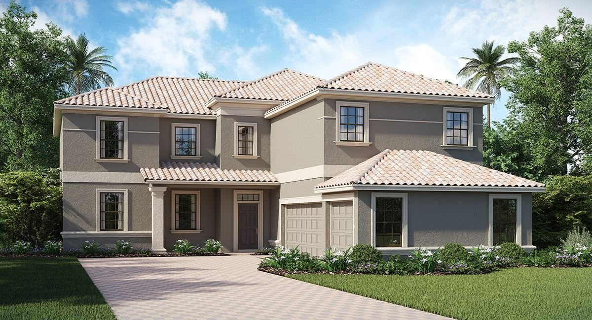 ChampionsGate Florida/The Buckingham 3,711 sq. ft. 4 Bedrooms 3 Bathrooms 3 Car Garage 2 Stories