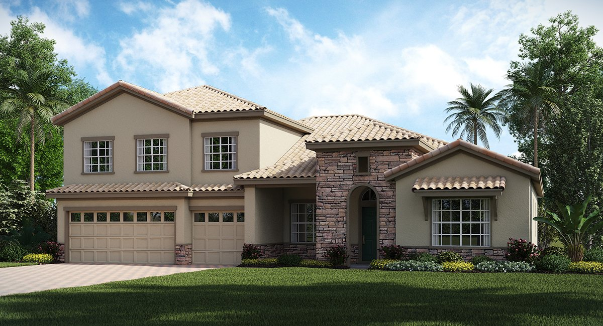 ChampionsGate Florida/The Grande Chatham 3,890 sq. ft. 4 Bedrooms 4 Bathrooms 3 Car Garage 2 Stories