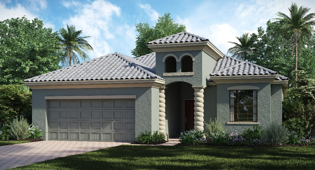 ChampionsGate Florida The/Hideaway 2,246 sq. ft. 4 Bedrooms 2 Bathrooms 2 Car Garage 1 Story