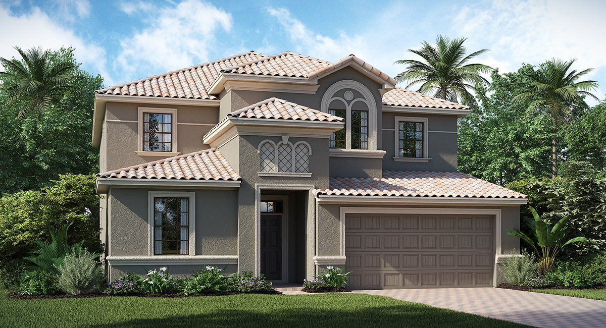 ChampionsGate Florida/The Luau 3,491 sq. ft. 7 Bedrooms 5 Bathrooms 2 Car Garage 2 Stories