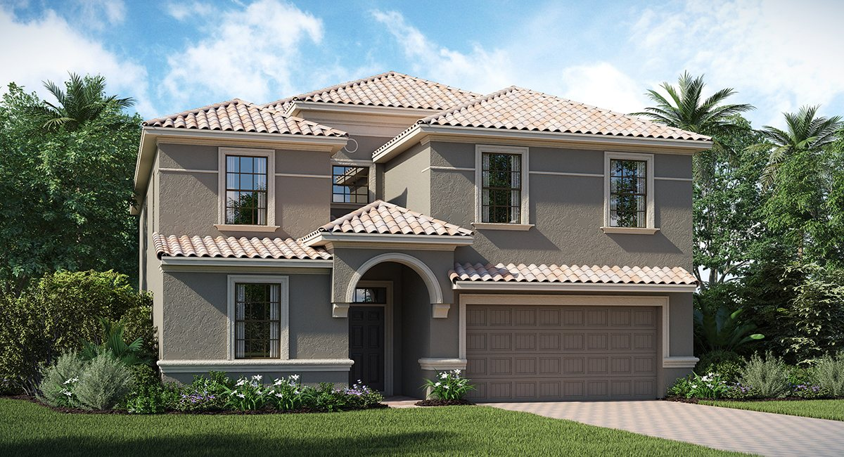 ChampionsGate Florida/The Maui 3,812 sq. ft. 8 Bedrooms 5 Bathrooms 2 Car Garage 2 Stories