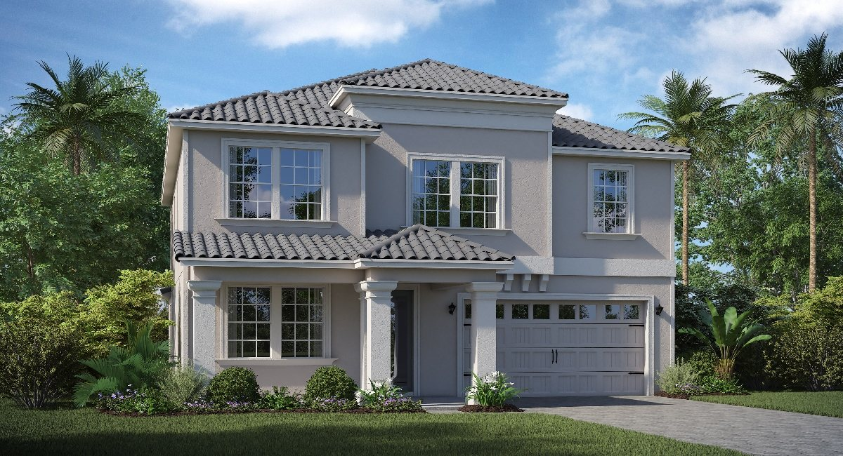 ChampionsGate Florida/The Provincetown 2,946 sq. ft. 4 Bedrooms 2 Bathrooms 2 Car Garage 2 Stories