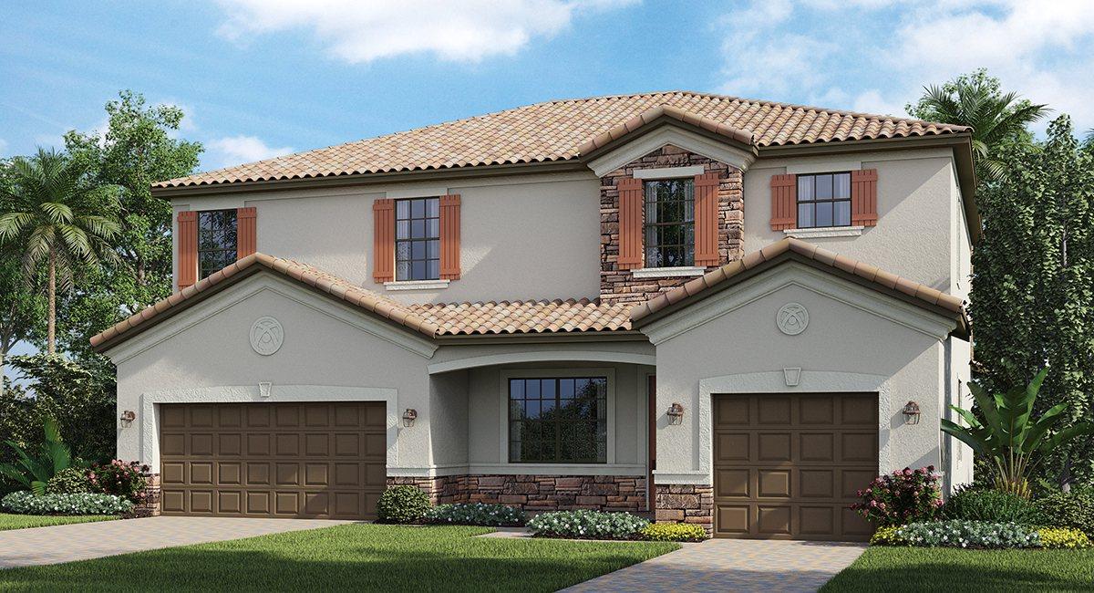 Lakewood Ranch/Lennar Homes/The Cornell 3,332 sq. ft. 5 Bedrooms 4.5 Bathrooms 1 Half bathroom 3 Car Garage 2 Stories