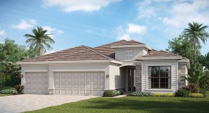 Polo Run: The Princeton II Lennar Homes Lakewood Ranch Florida New Homes Communities