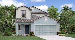 The Columbia Model Tour Lennar Homes Tampa Florida