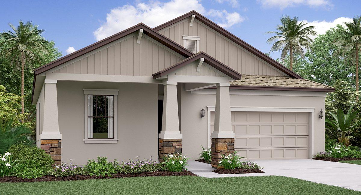 The New Jersey Model Tour Rivercrest Lakes Lennar Homes  Riverview Florida