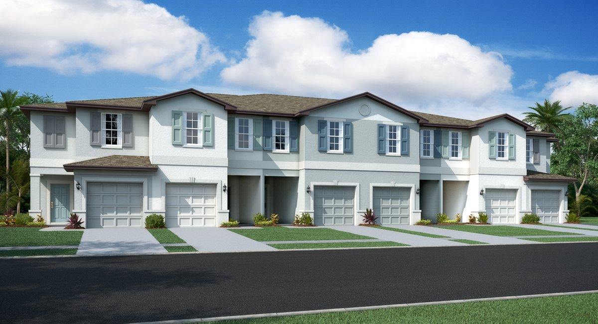 Touchstone Townhomes – American Dream Series Homes – TAMPA
