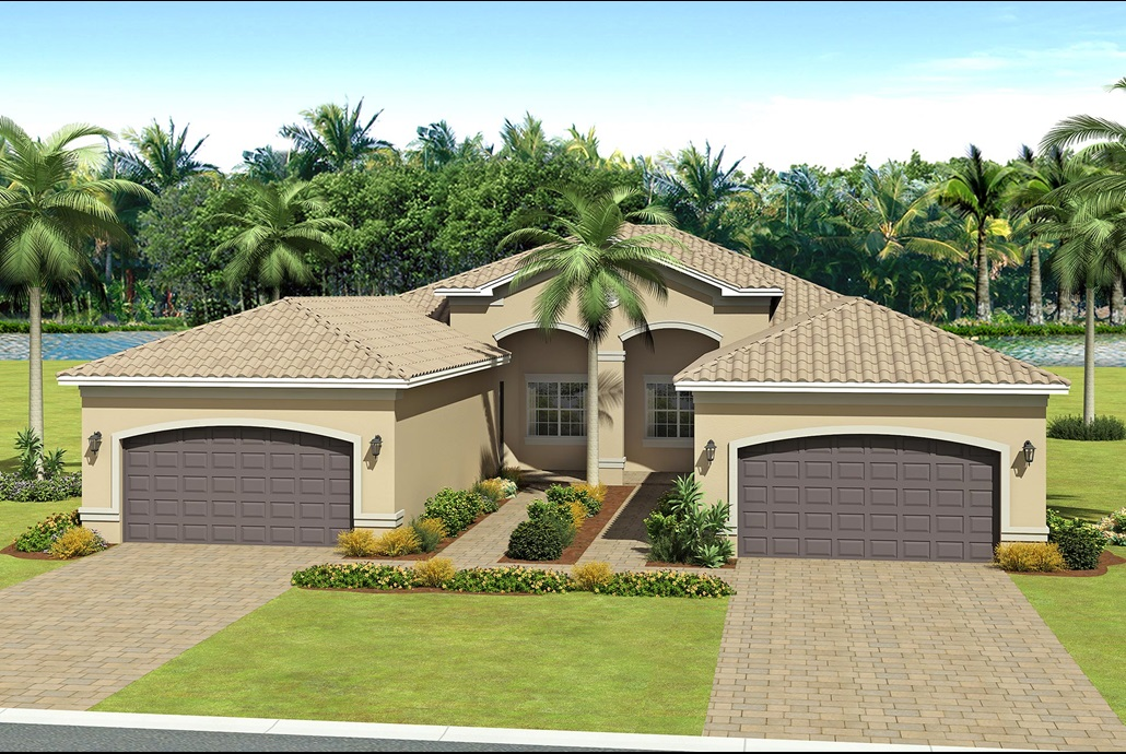 The Nantucket Model Home   The Valencia Lakes in Tampa, Florida   GL Homes