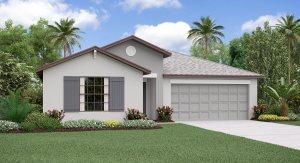 The Hartford Model Tour Lennar Homes South Fork: Sunstone Ridge Estates Riverview Florida
