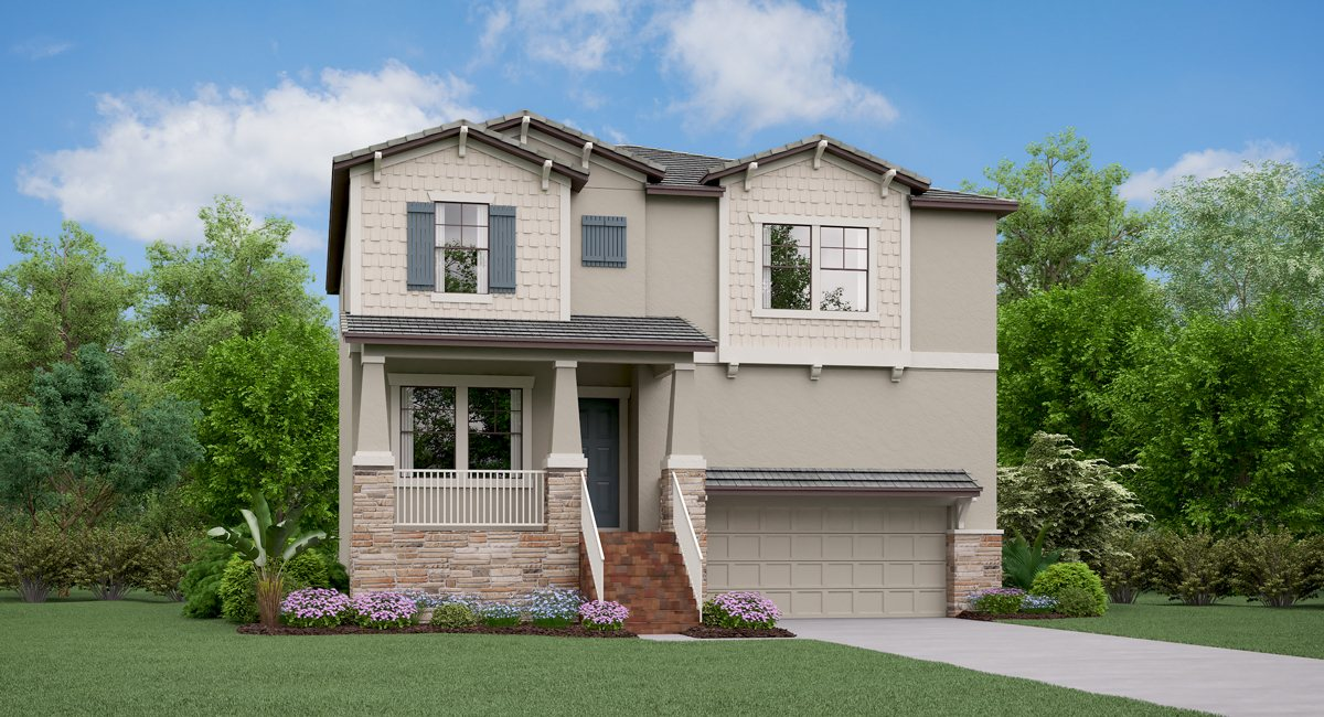 You are currently viewing The Ohio Model Tour Lennar Homes Southport South Tampa Florida