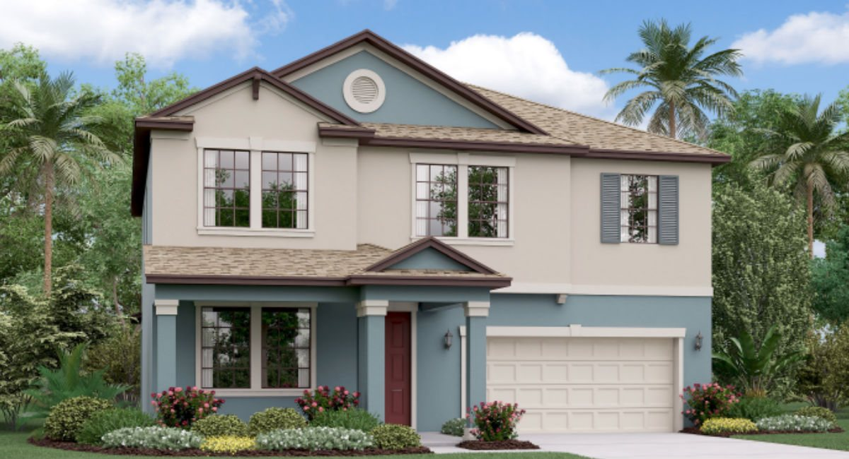 Crestview Lakes New Home Community Riverview Florida