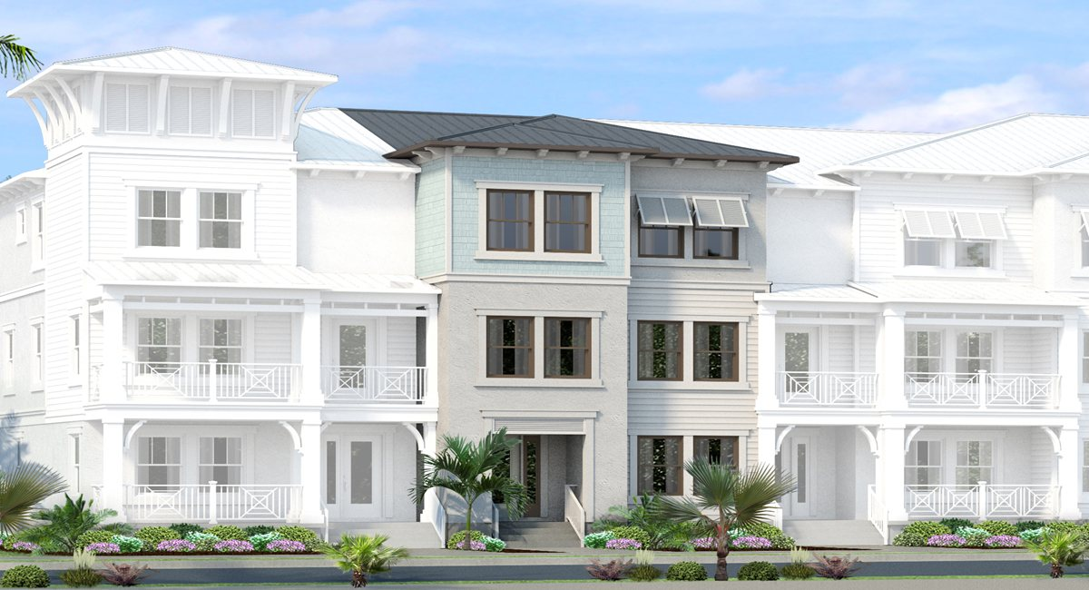 Inlet Park New Town Home Community South Tampa Florida