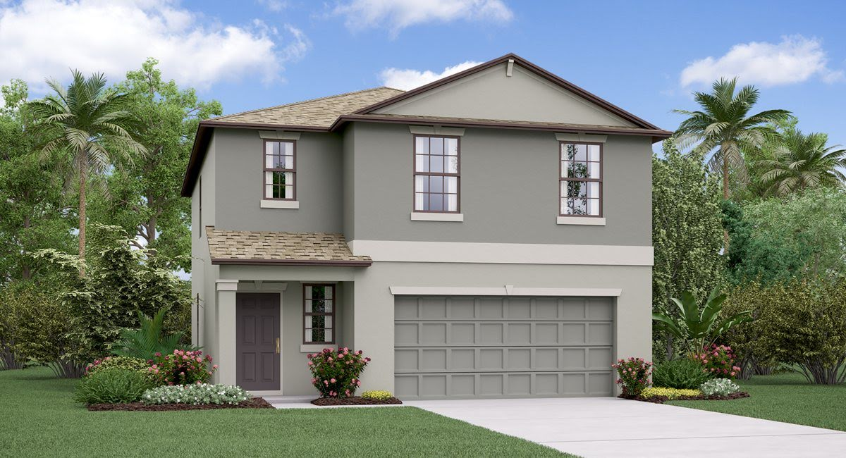 You are currently viewing The Atlanta Model Tour Lennar Homes Cypress Mill Ruskin Florida