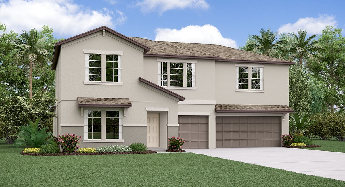 The Cheyenne Model Tour Belmont Lennar Homes   Ruskin Florida