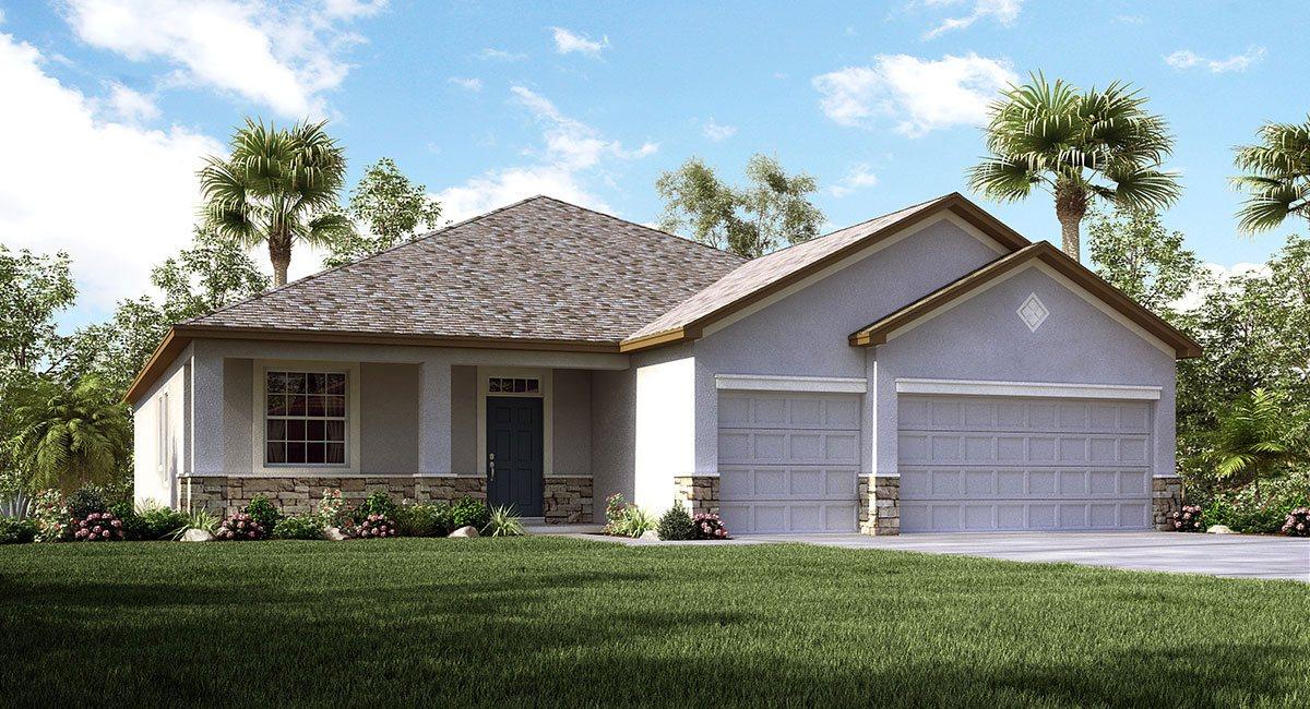 The Lancaster Model Tour Lennar Homes Riverview Florida