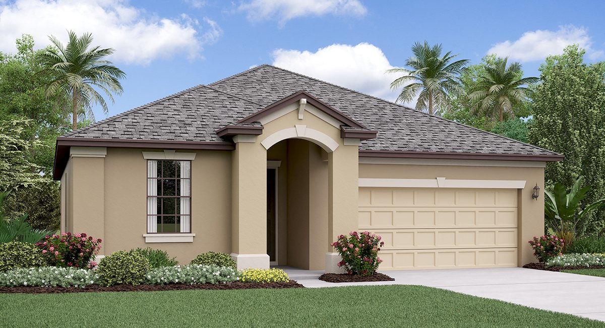 The New Jersey Model Tour Lennar Homes Crest View Lakes   Riverview Florida