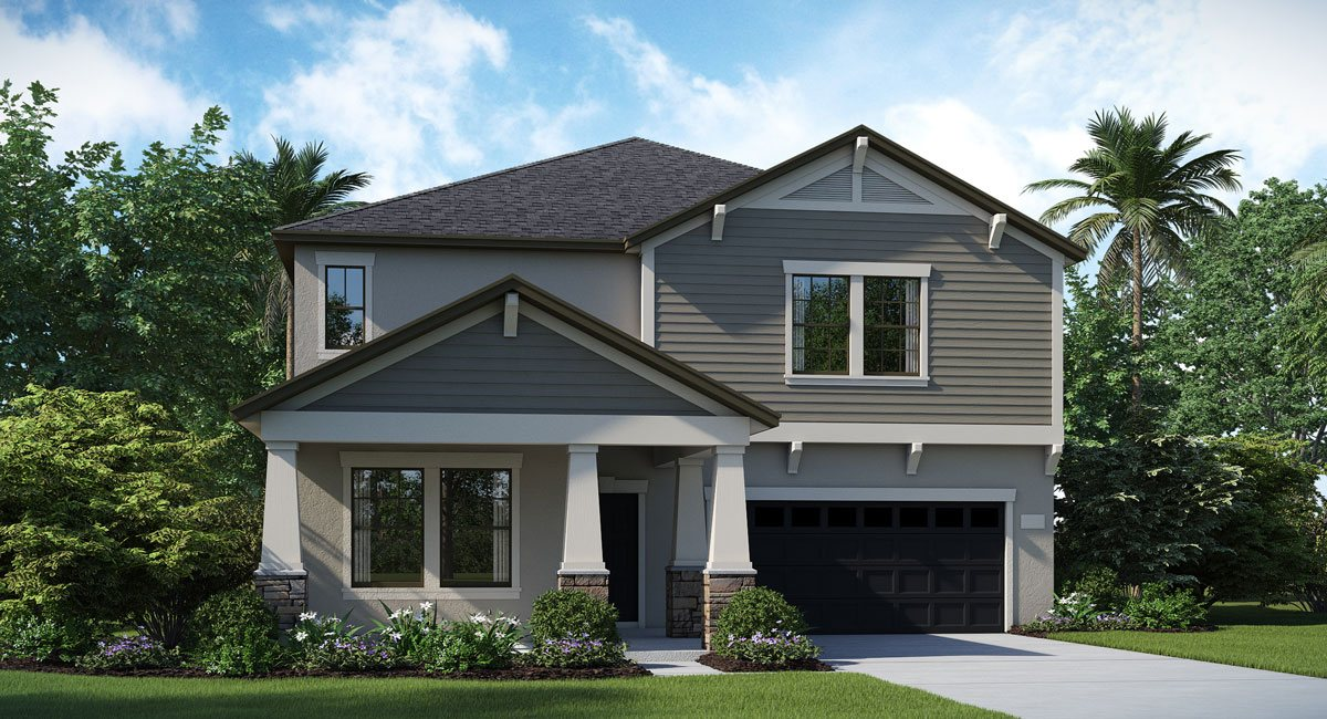 The Peabody  Model  Tour Lennar Homes Riverview Florida