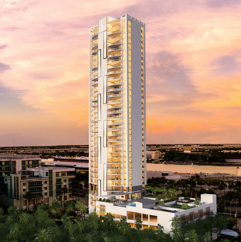 The  Eleve 61 New Condominiums Community Down Town Tampa Florida
