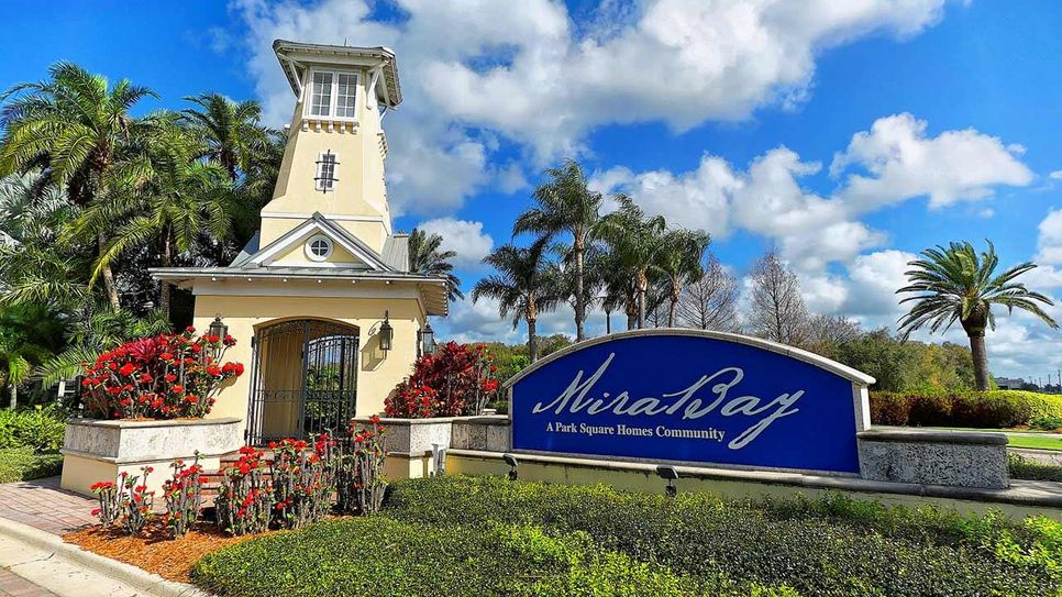 Mira Bay New Home Community Apollo Beach Florida