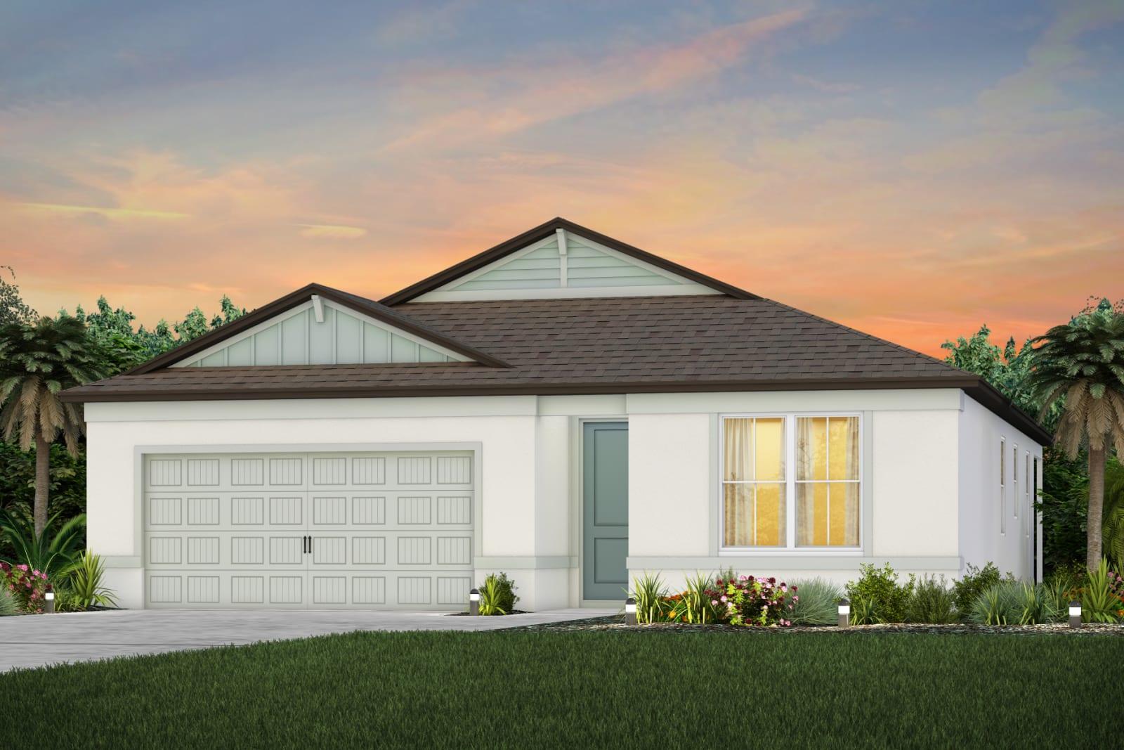 The Highgate  Model Tour Cedarbrook Pulte/Centex Homes Riverview Florida