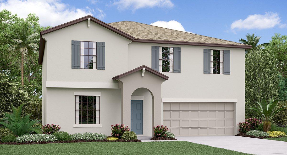 The Providence Model Tour Spencer Creek Lennar Homes Ruskin Florida