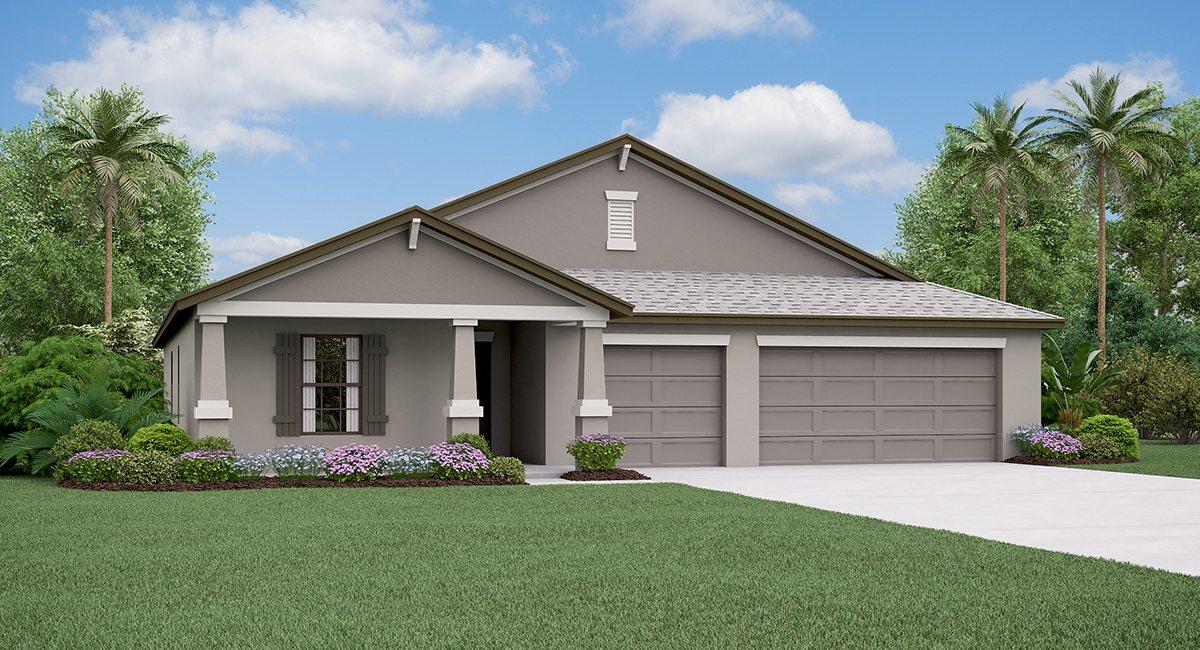 The  Santa Fe Model Tour Spencer Creek Lennar Homes Ruskin Florida