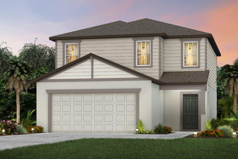 The Hamden  Model Tour North River Ranch Centex Homes Parrish Florida