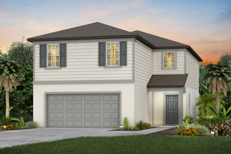 The  Tybee Model Tour North River Ranch Centex Homes Parrish Florida