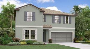The  Trenton Model Tour Creek Preserve Lennar Homes Wimauma Florida