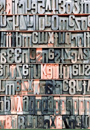 Rare letters en tekens op de website