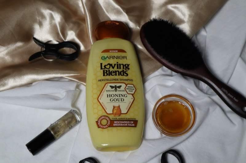 Garnier Loving blends honing goud shampoo