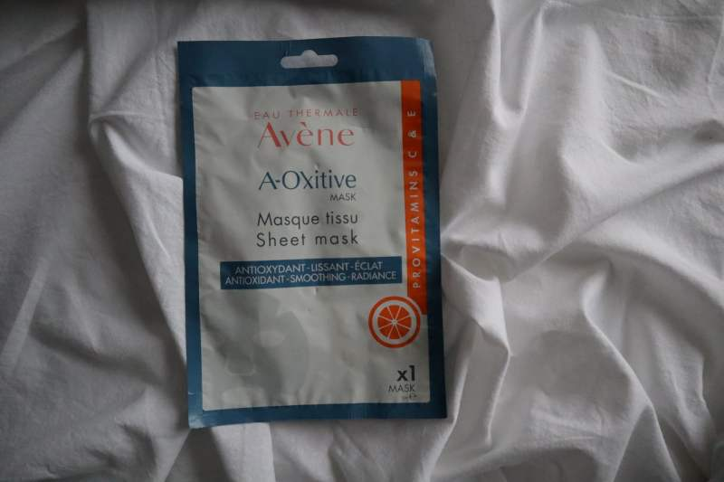 Eau Thermale Avène A-Oxitive mask sheet mask
