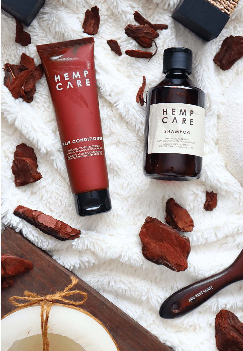 Hemp care shampoo & Hemp care conditioner