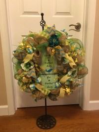 Everyday Wreath, Welcome Wreath, Front Door Wreath, Home ...