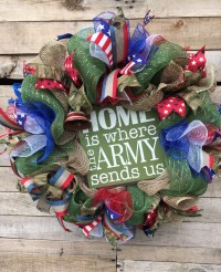 Army Wreath, Army Door Wreath, Military Decor, US Army ...