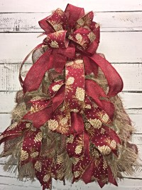 Rustic Christmas, Rustic Christmas Tree for Front Door ...