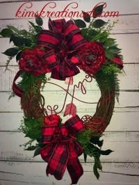 Valentines Day Wreath, Valentines Wreath for Front Door ...