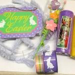 Wreath Kit Easter Wreath Kit Deco Mesh Wreath Kit Make Your Own Wreath Kim S Kreations Etc