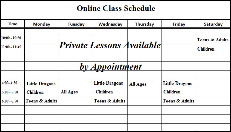 covid schedule - Copy