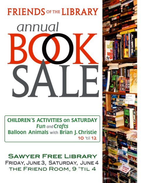 Sawyer Free Library Book Sale