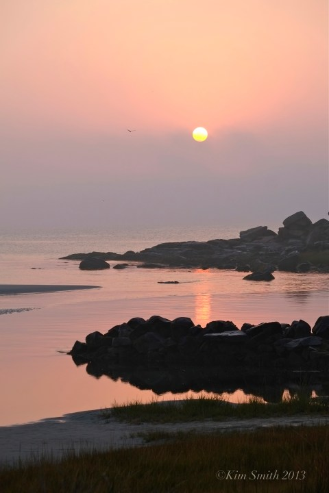 Good Harbor Beach Sunrise ©Kim Smith 2013. copy