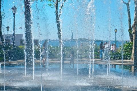 The Bosque Spiral Fountain ©KIm Smith 2013