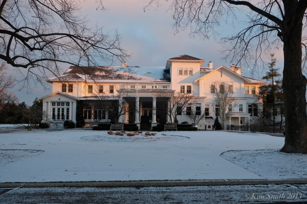 Cincinnati Country Club snow ©Kim Smith 2013