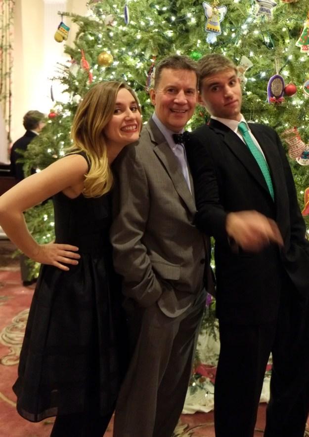 Liv, Alex, Tom Hauck -
