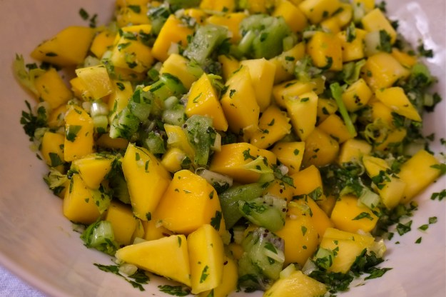 Kiwi Mango Salsa -- ©Kim Smith 2014.J