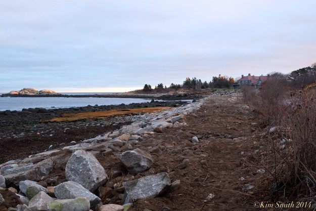 Niles Pond Brace Cove berm causeway restoration -4 ©Kim Smith 2014.JPG
